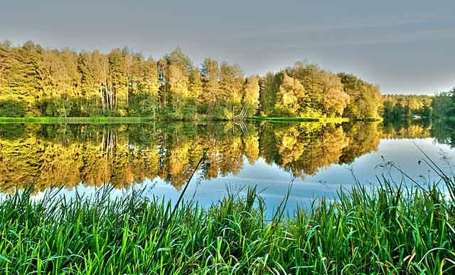 jezioro koronowskie
