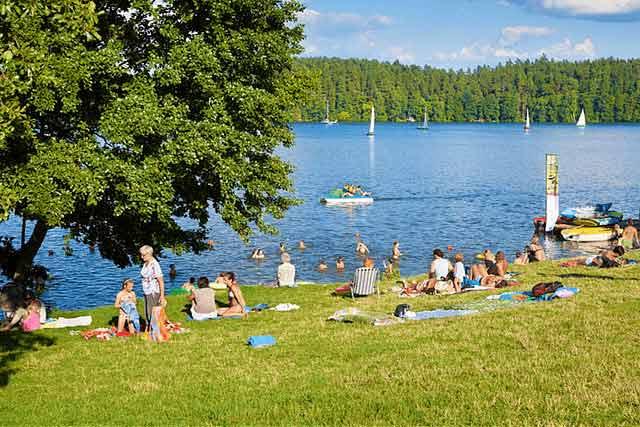 najczystsze jeziora na mazurach, a wśród nich jezioro Nidzkie! najpiękniejsze jeziora w polsce