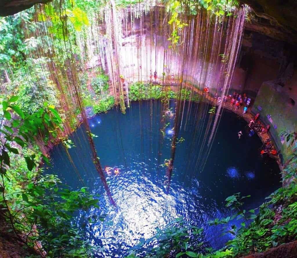 Co zwiedzać w Meksyku? Cenote Ik Kil