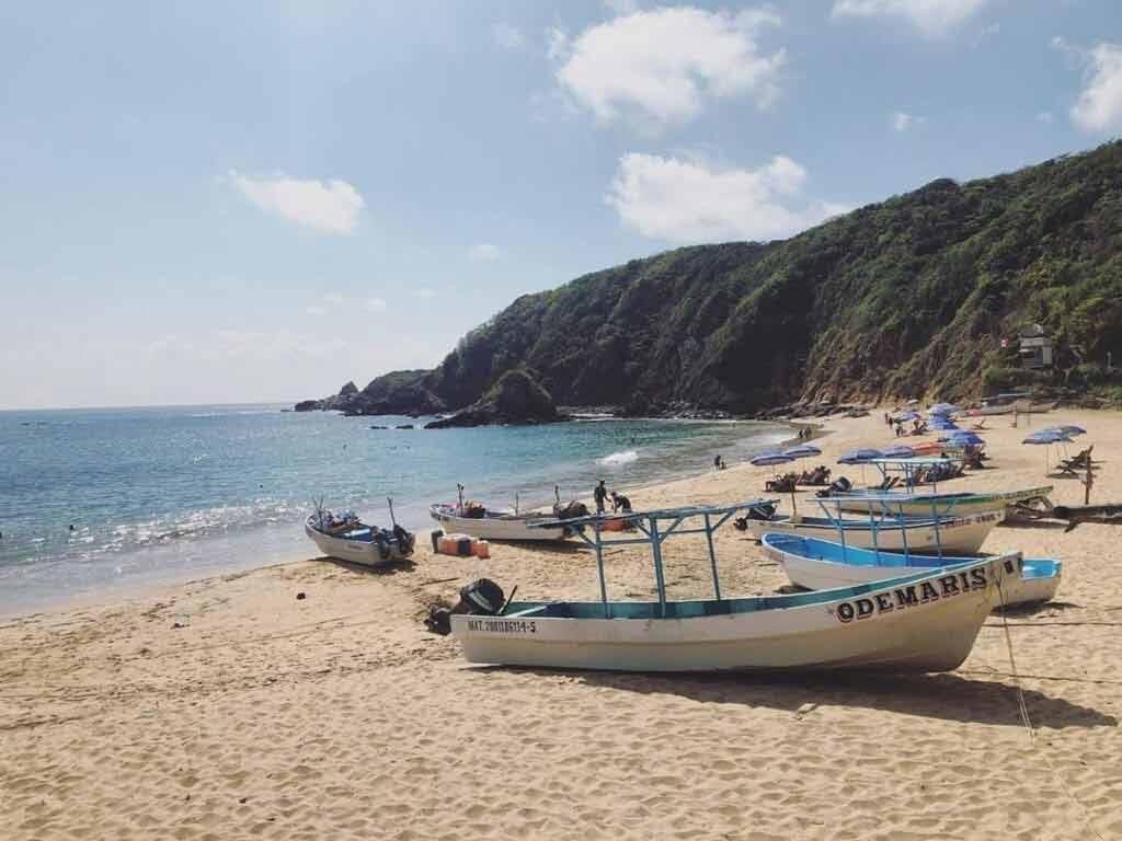 Mazunte, plaża w Meksyku