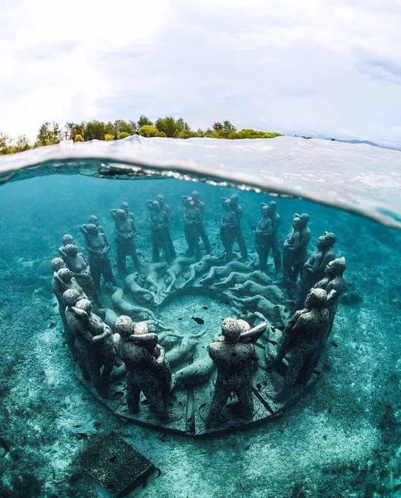 Podwodne Muzeum, Cancun