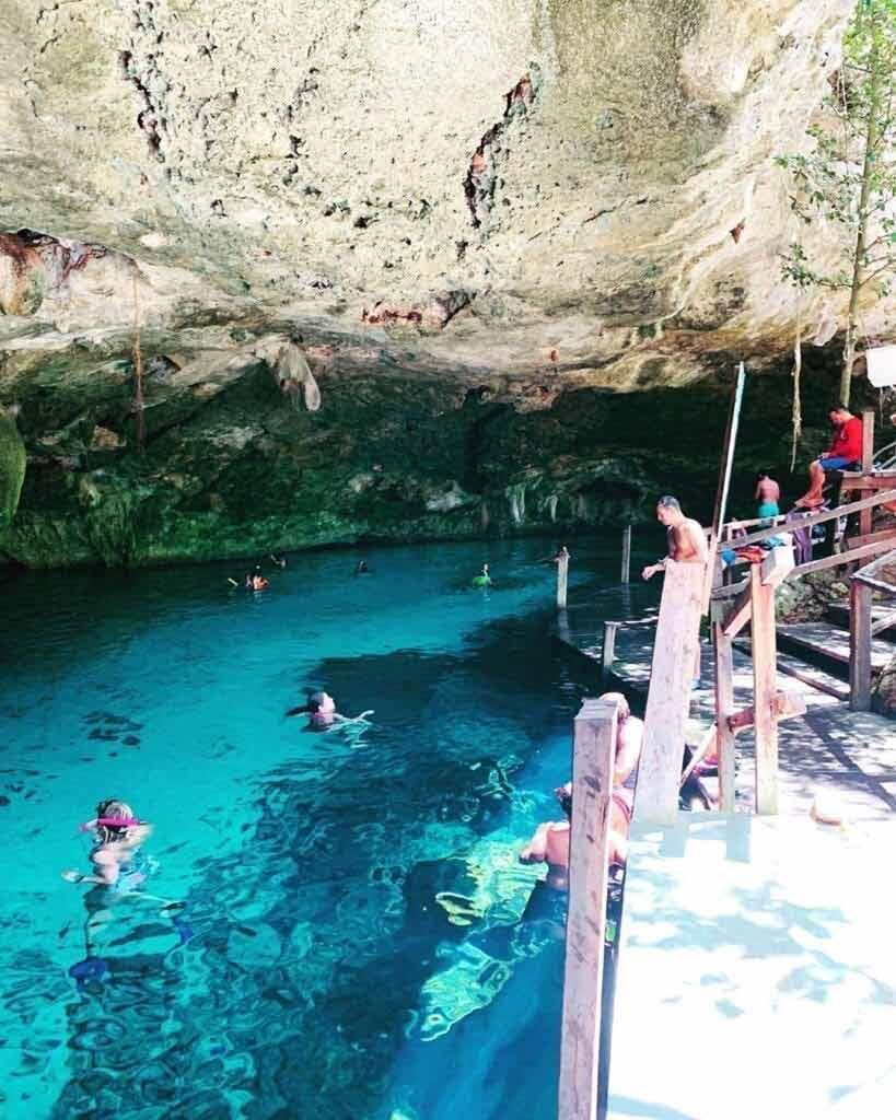 Sistema Dos Ojos - nurkowanie w jaskiniach, Meksyk