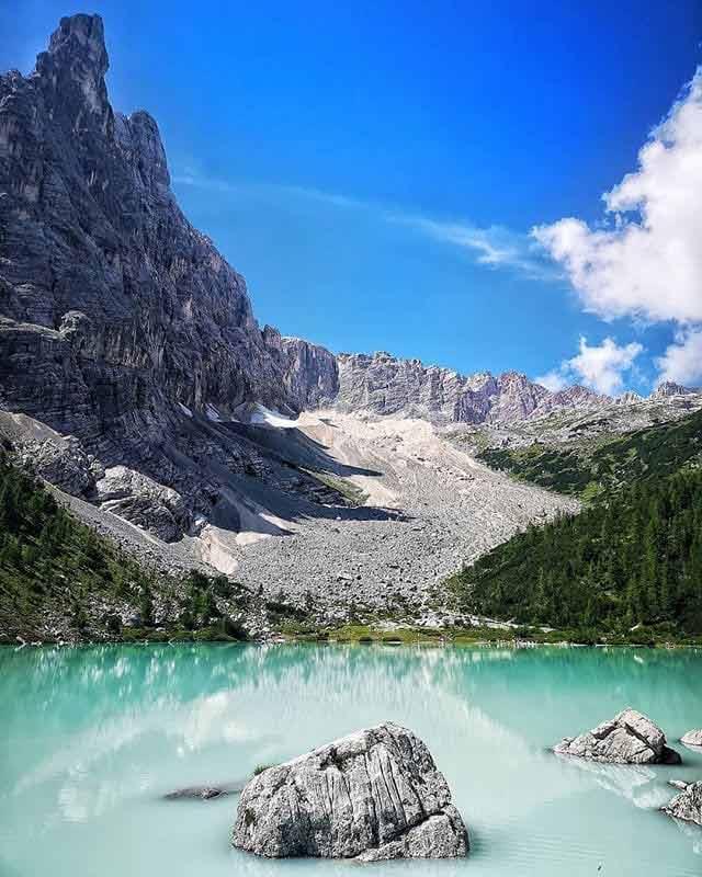 Sorapis, Dolomity