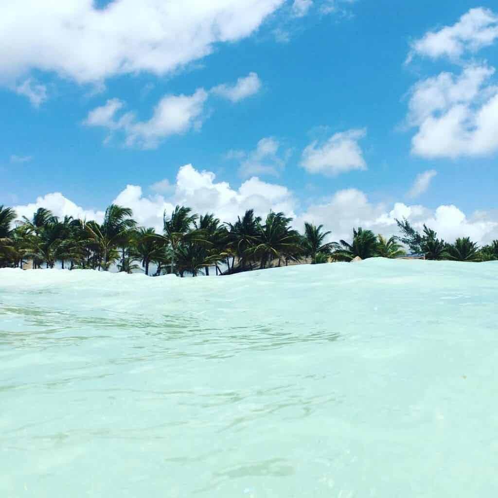 Xpu-Ha Beach, plaża jukatan