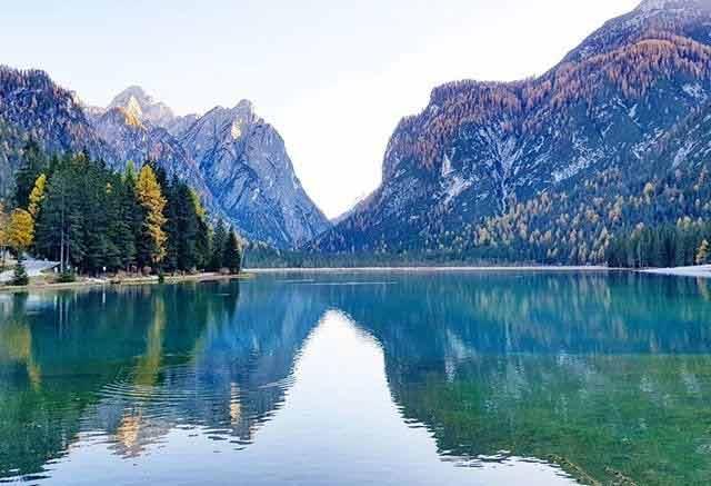 Dobbiaco, Dolomity latem