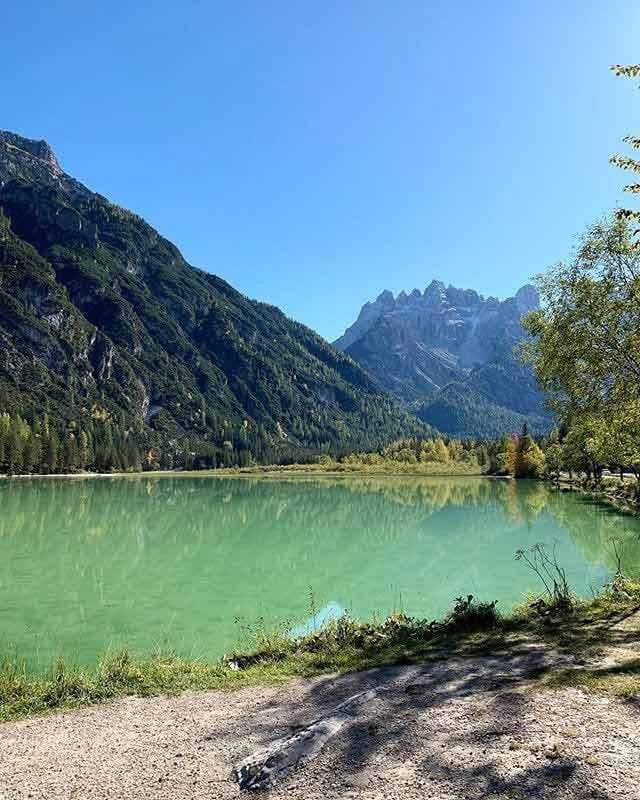 Landro - Dolomity latem