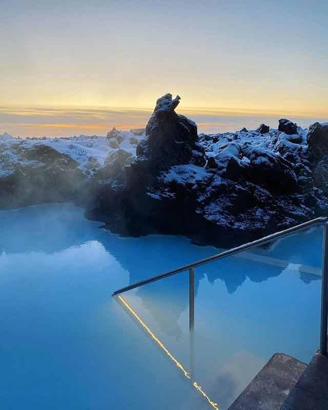 Niebieska Laguna, Islandia