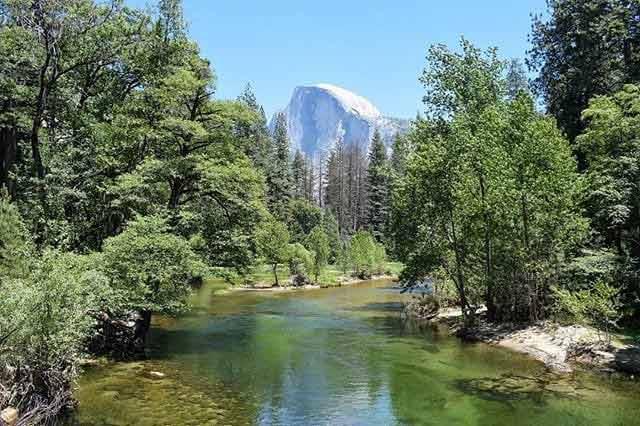 Park Narodowy Yosemite - Rzeka Merced