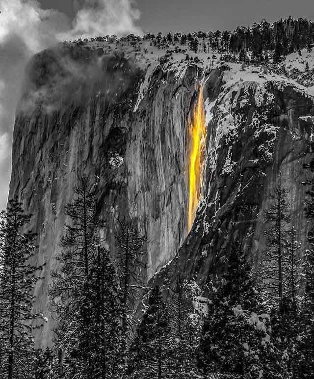 Yosemite wodospad