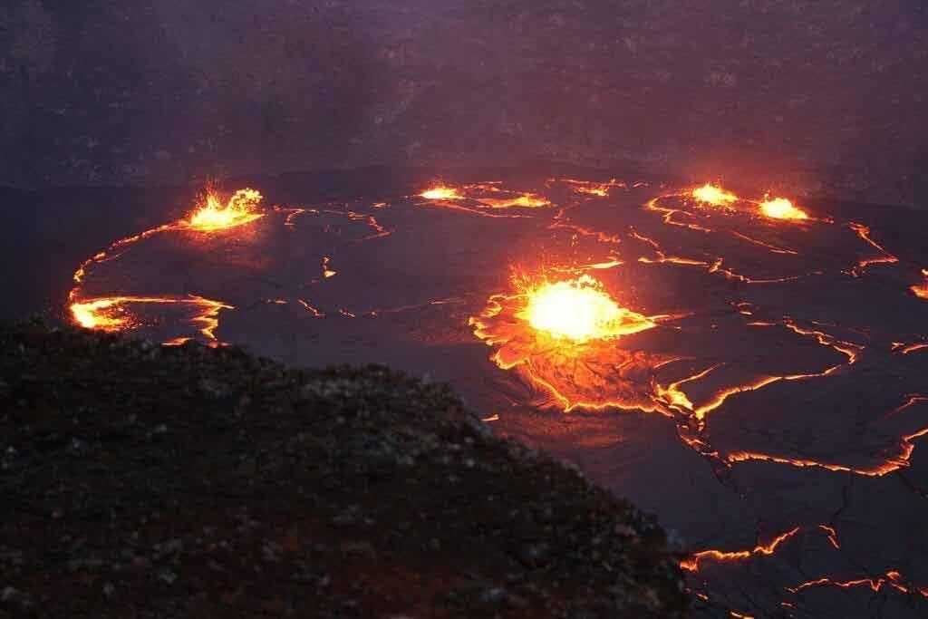 Ciekawe miejsca na Hawajach - Park Narodowy Wulkanów