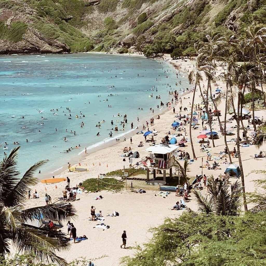 Co zobaczyć na Hawajach - Zatoka Hanauma
