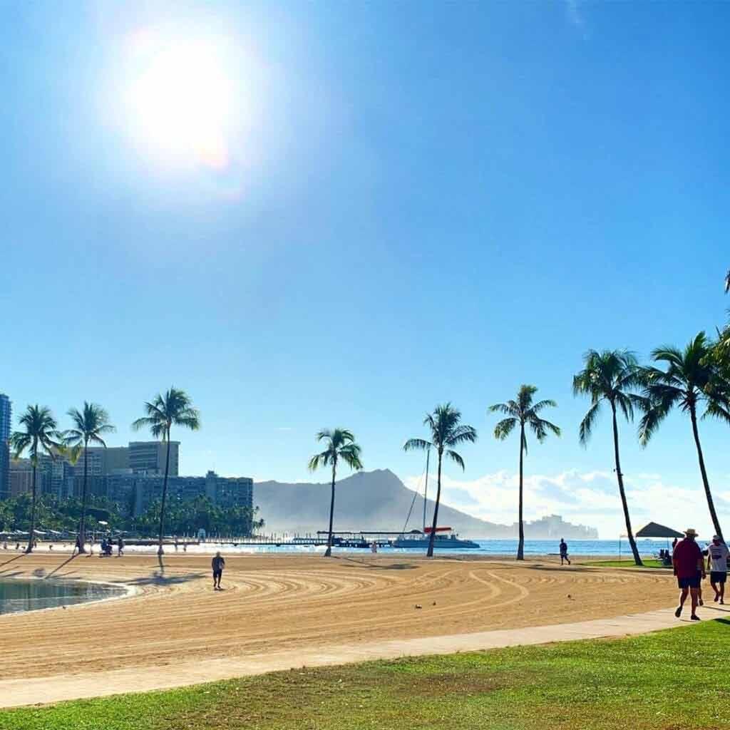 Hawaje pogoda