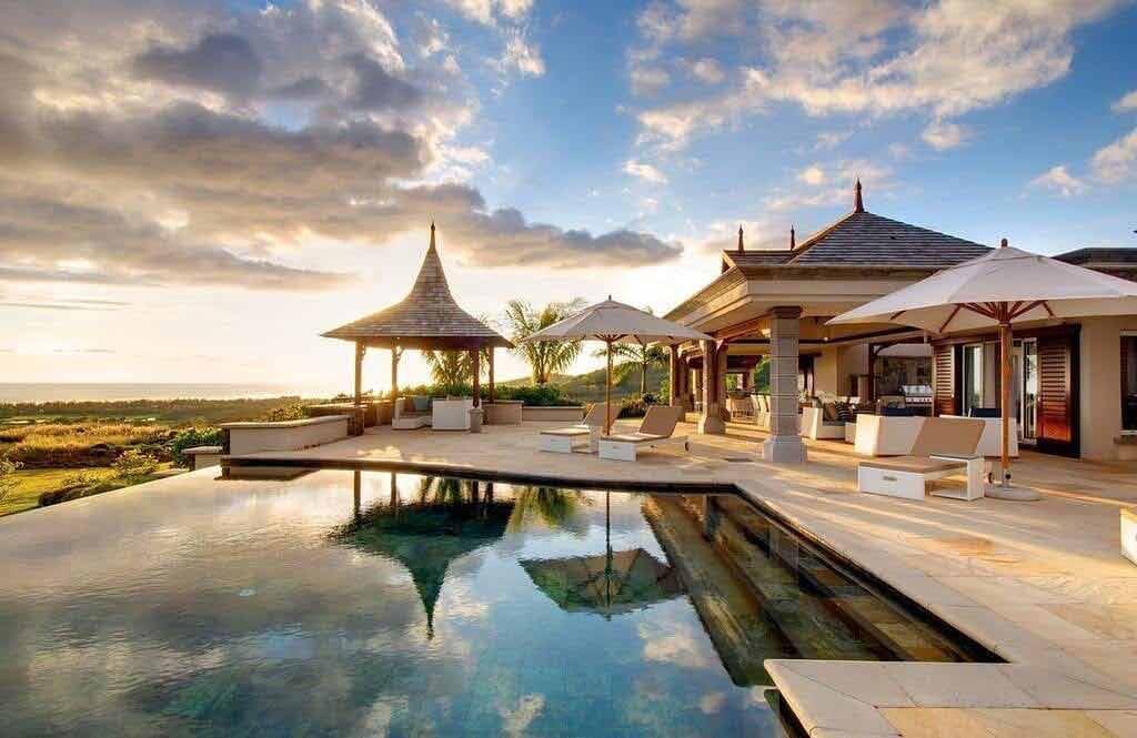 Luksusowy hotel na Mauritius