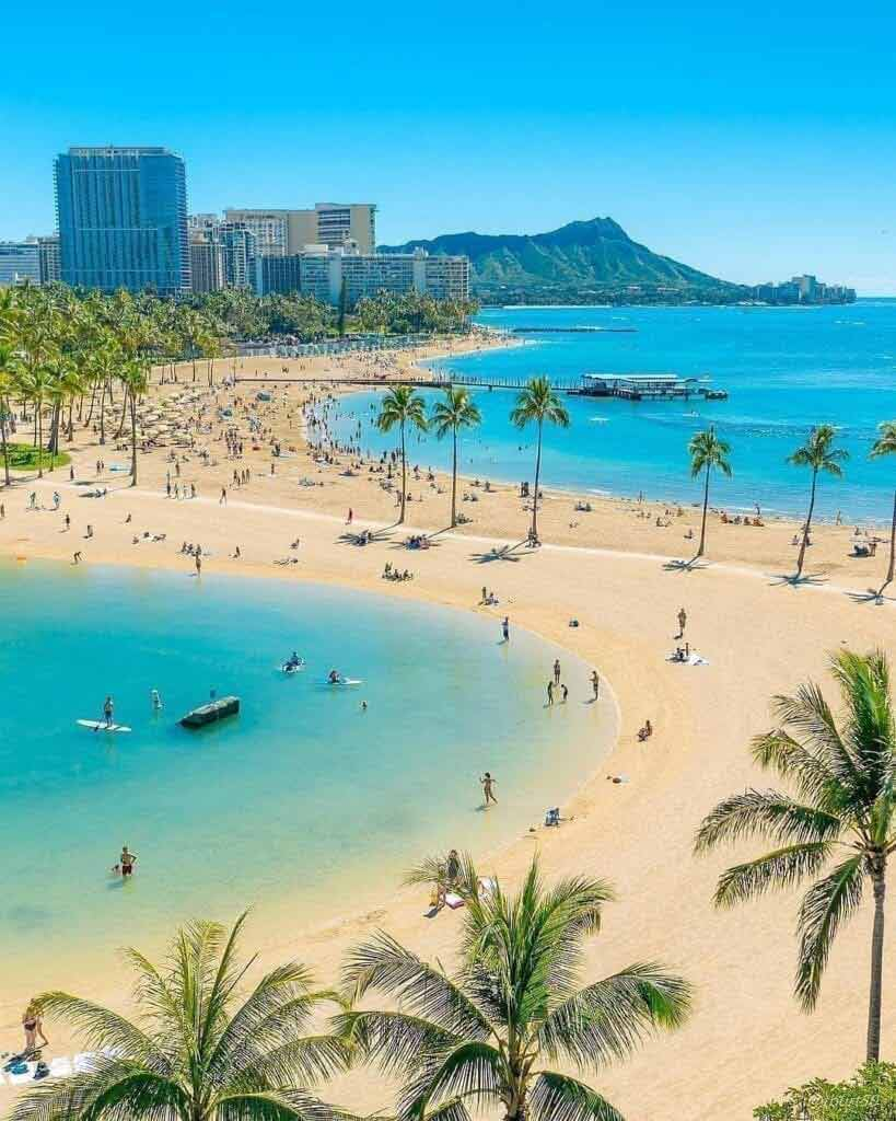 Plaża Waikiki