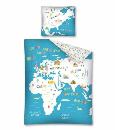 mapa pościel