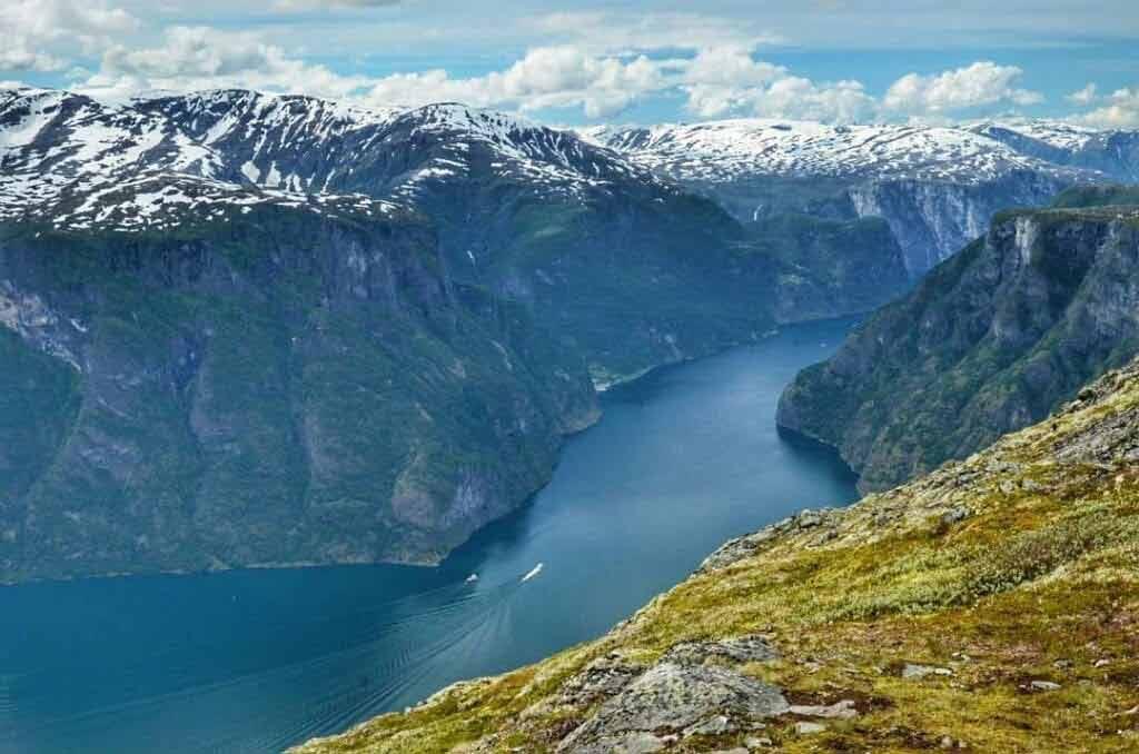 Aurlandsfjord - fiordy norweskie