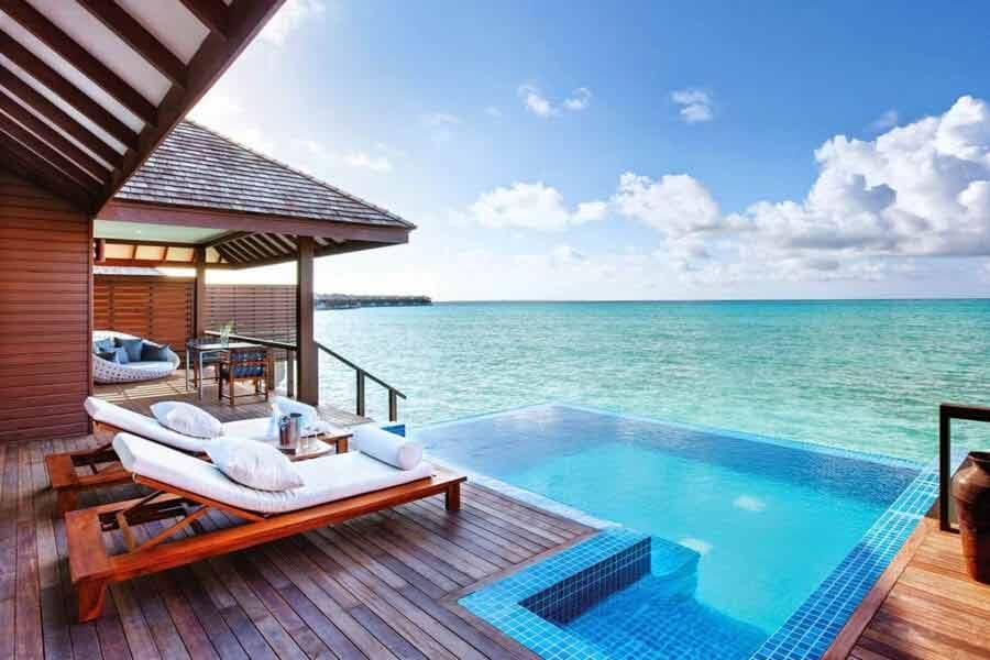 Domki i hotele na wodzie Malediwy wakacje