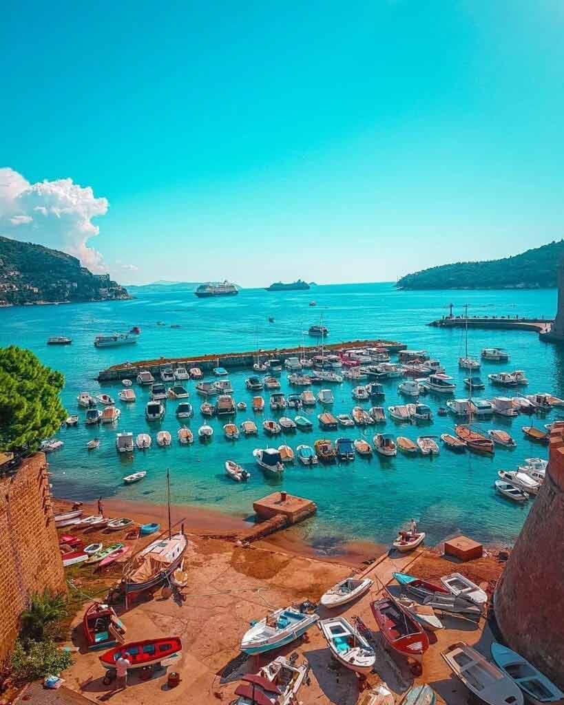 Dubrovnik, Chorwacja miasta turystyczne