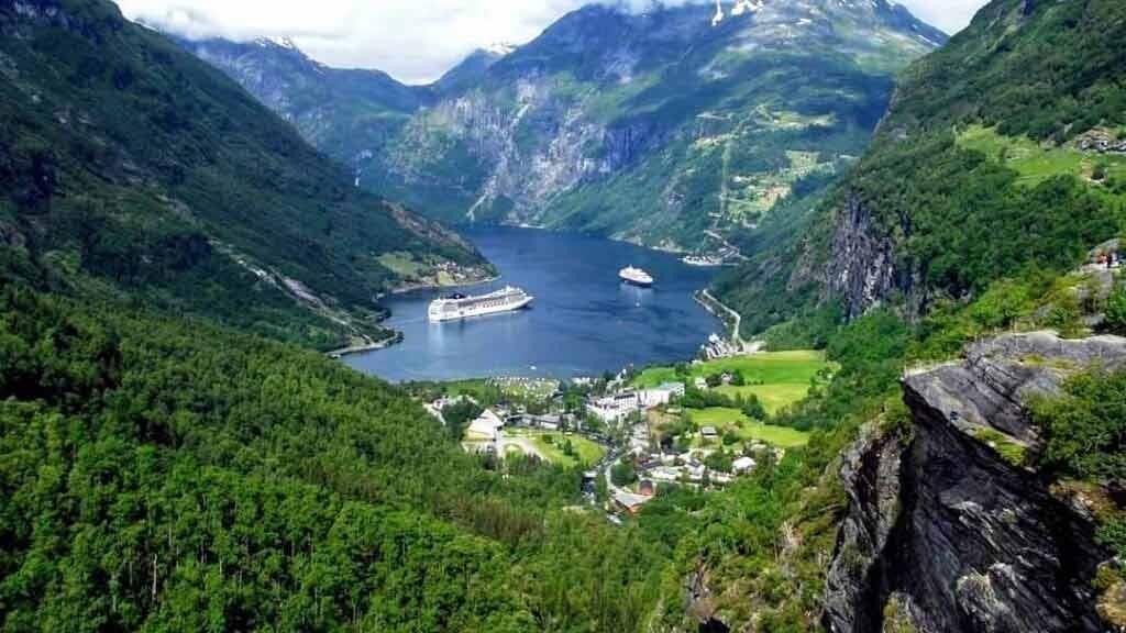 Geirangerfjord - Wycieczka do Norwegii