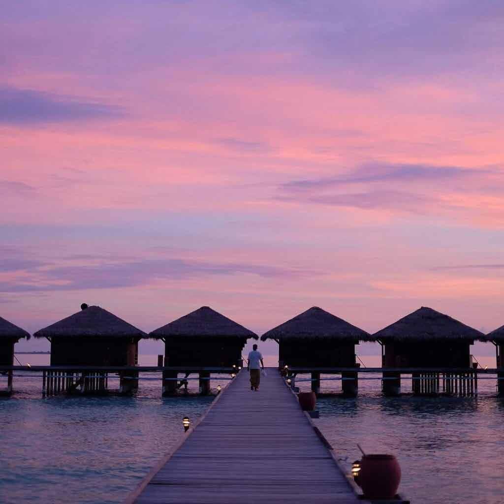 Hotele na wodzie na Malediwach