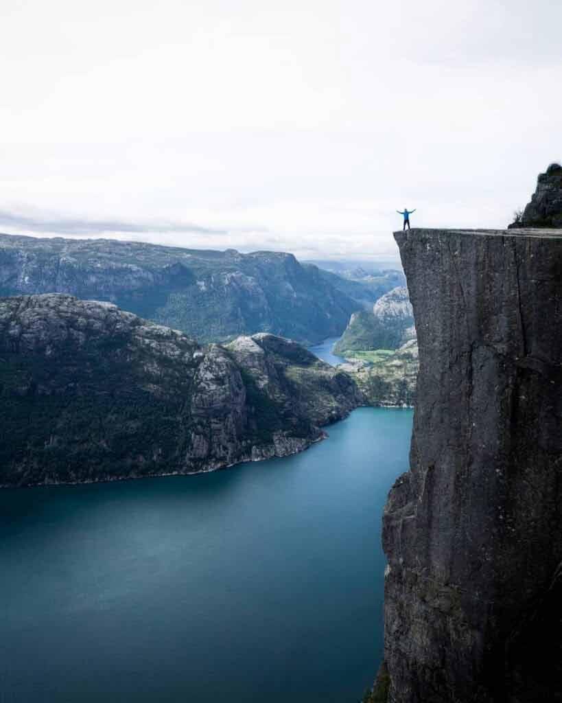 Lysefjord - Norwegia