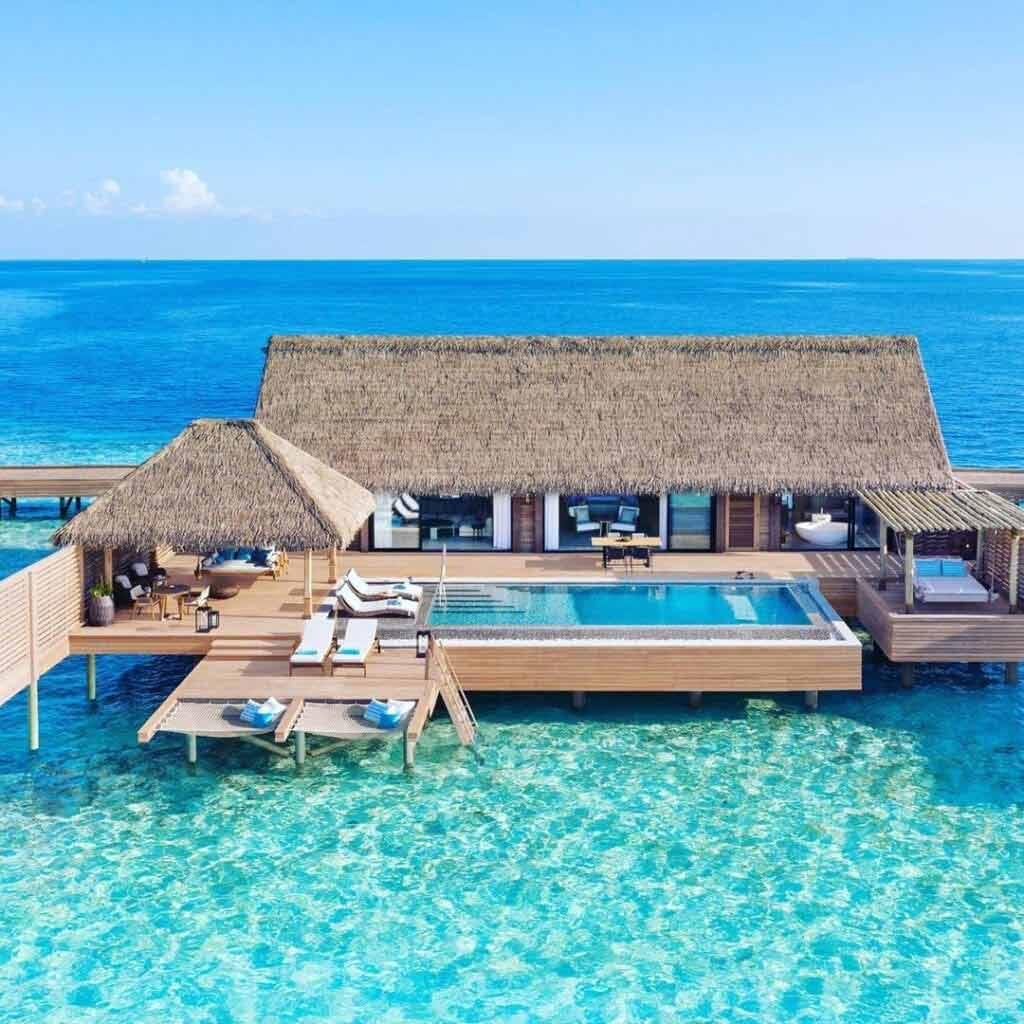 Malediwy hotel na wodzie