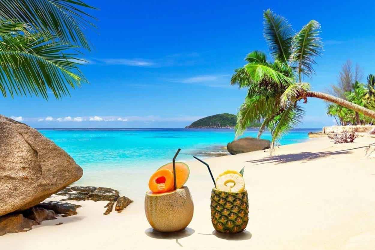 Tropiki i kraje egzotyczne na wakacje w tropikach