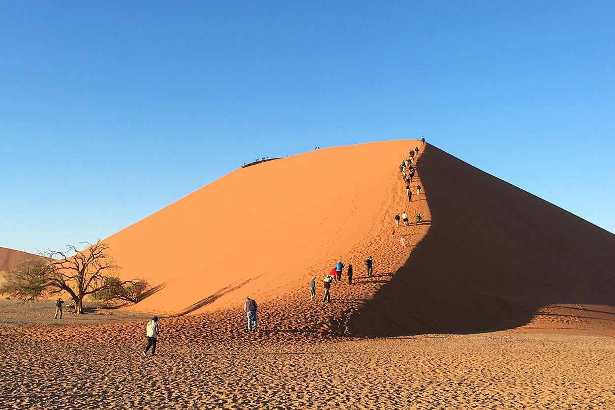 Namibia - kiedy jechać, jaka temperatura, jaka pogoda, klimat