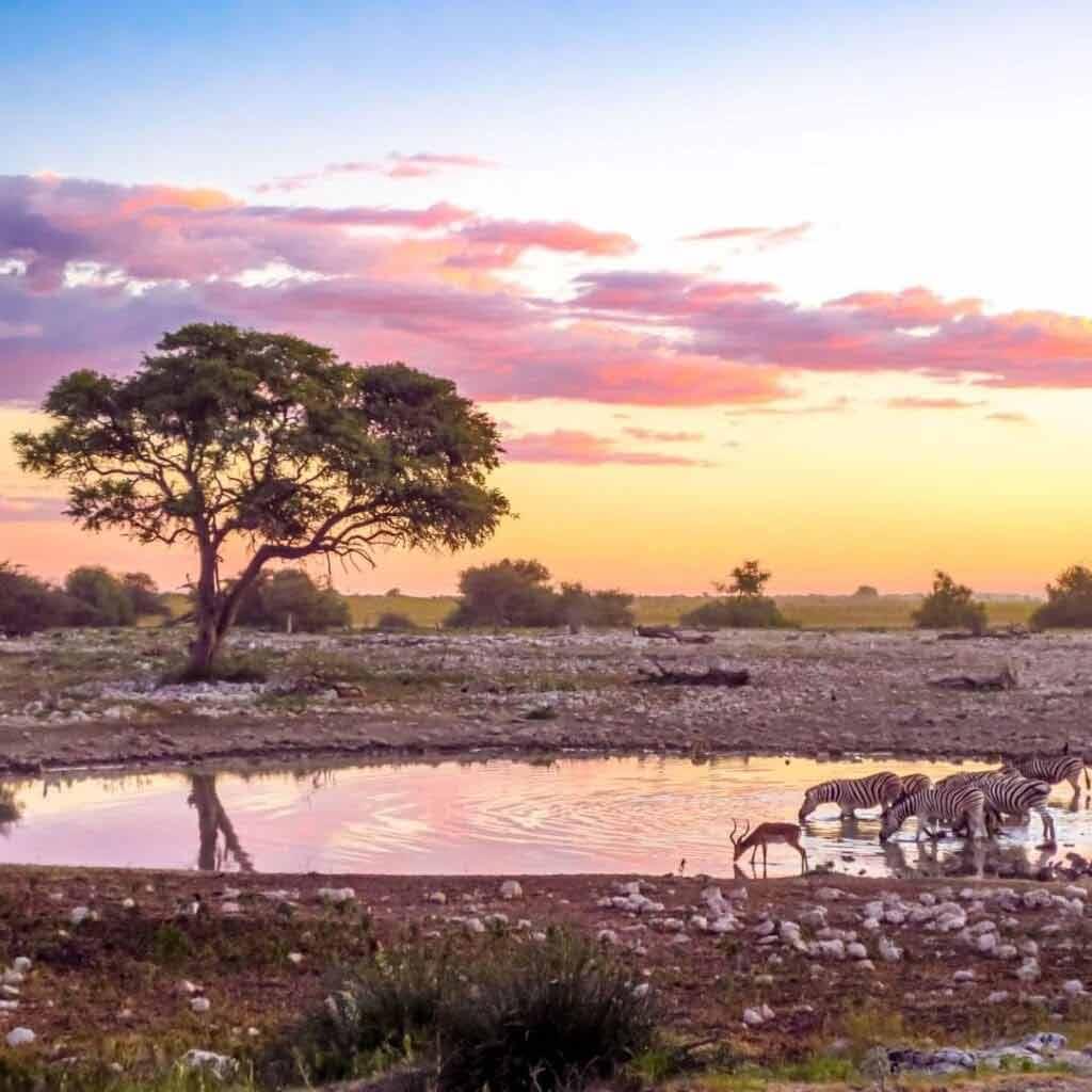 Namibia pogoda