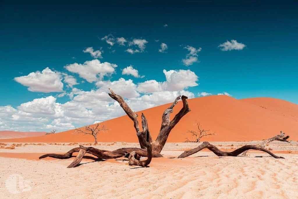 Namibia temperatura