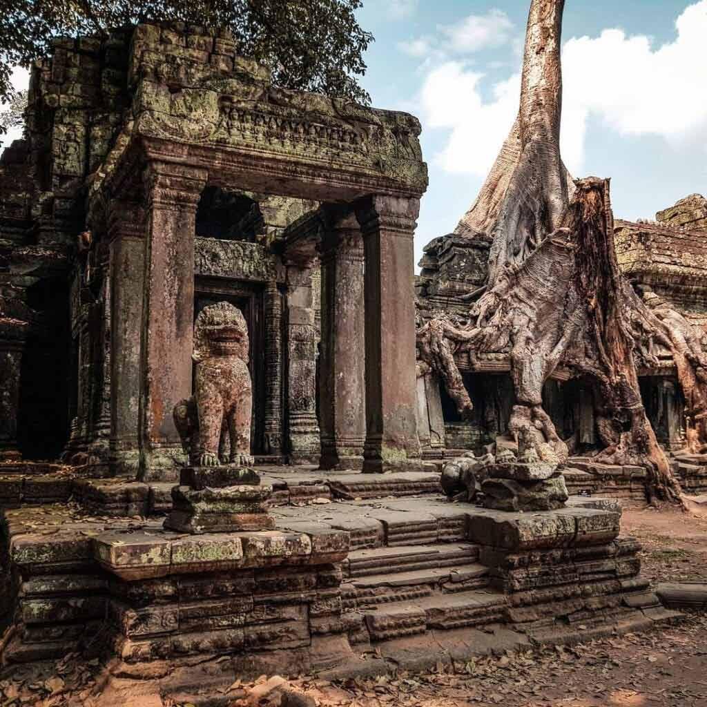 Kambodża kiedy jechać
