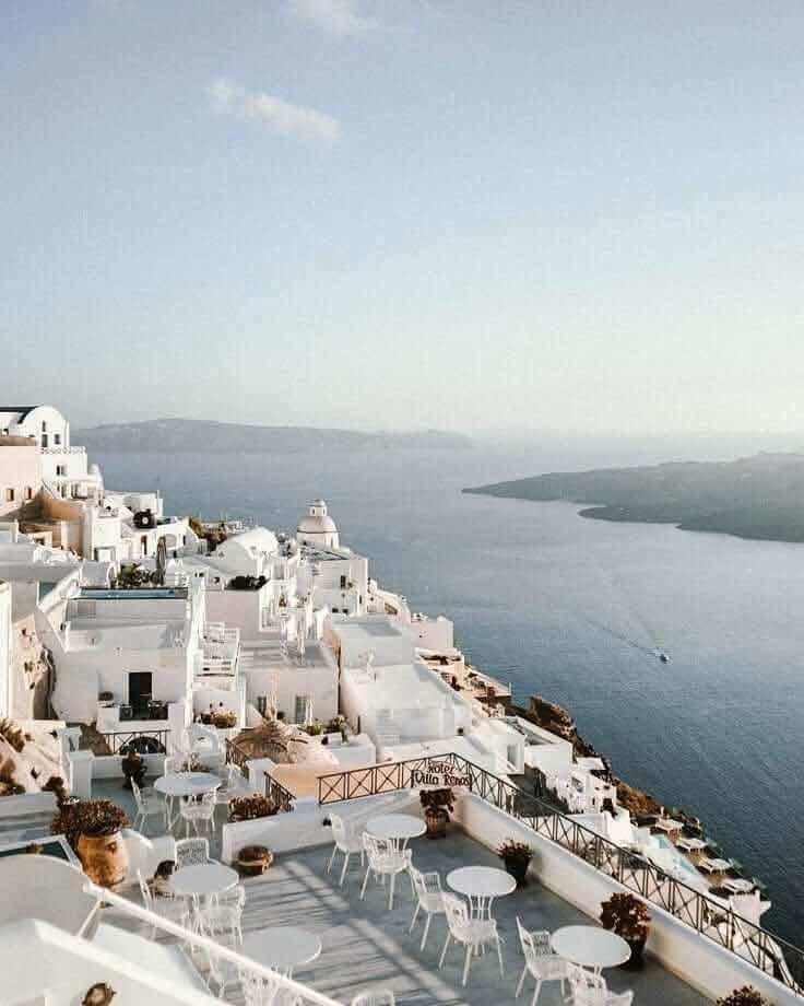 Santorini wakacje