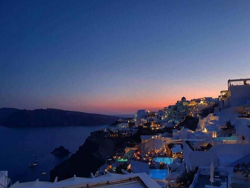 Wczasy Santorini
