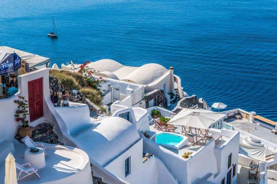 Wyspa Santorini - wakacje, wczasy, urlop, informacje o Santorini