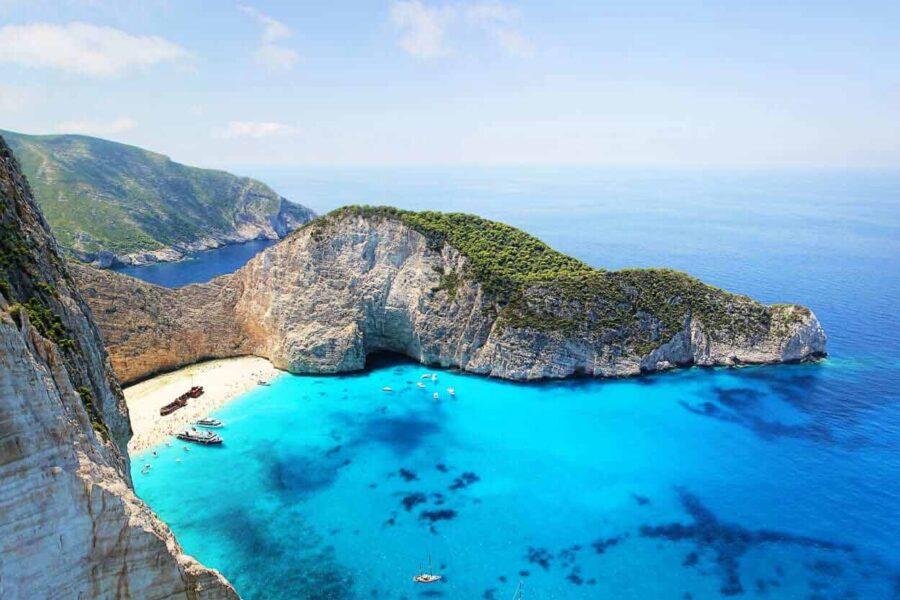 Wyspa Zakynthos - wakacje, urlop, wczasy