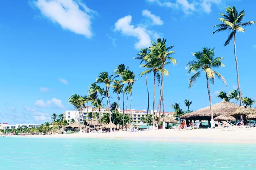 Aruba. Styczeń - wakacje