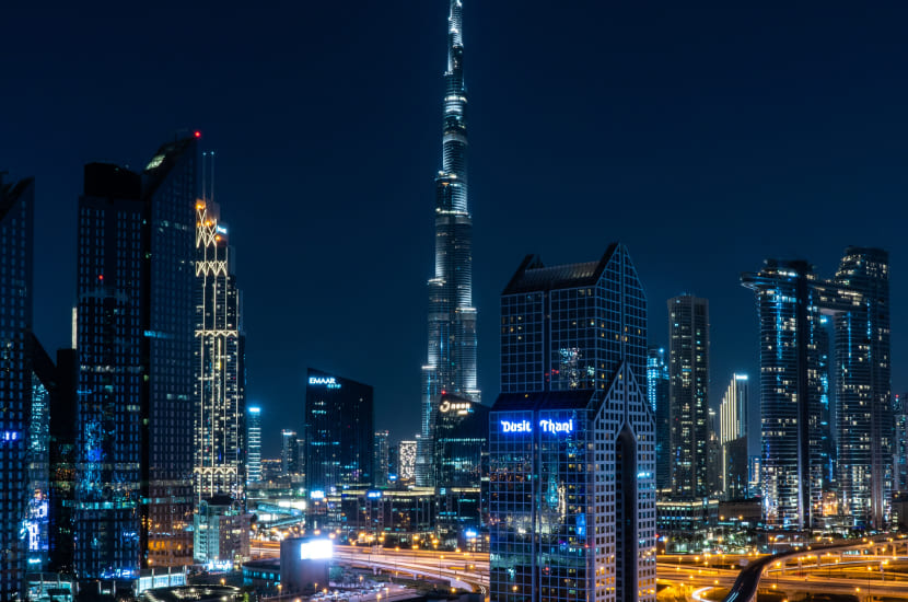Dubaj - ile się leci