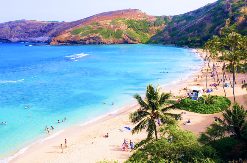 Hawaje - gorący wypoczynek na początku roku