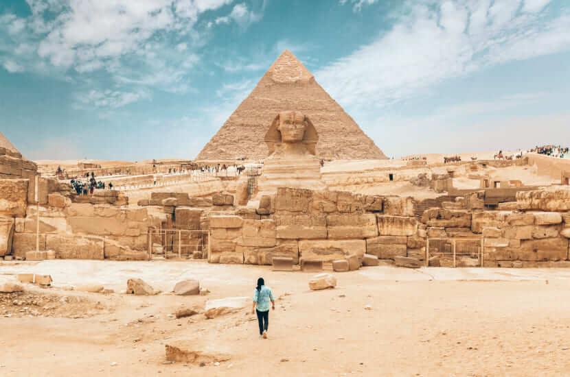 Ile trwa lot do Egiptu