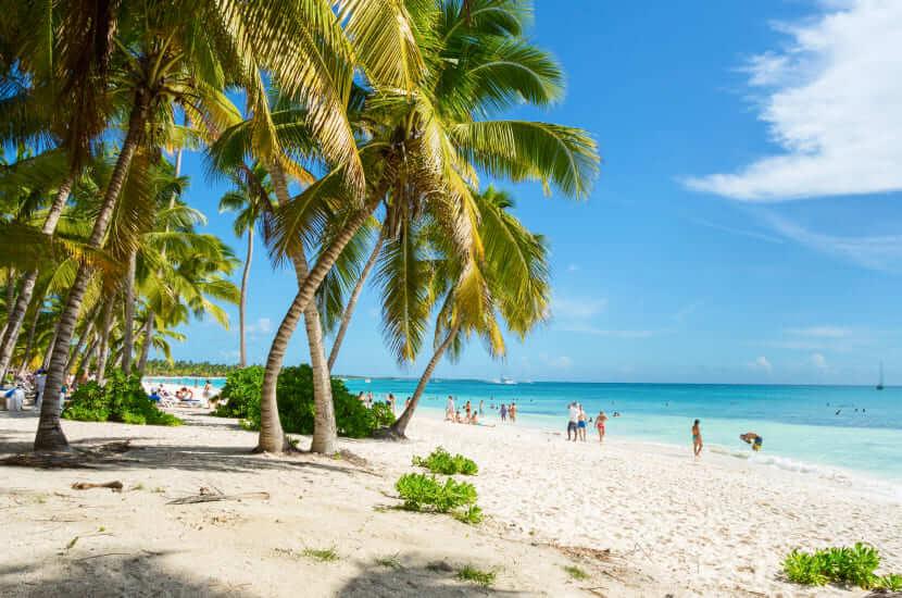 Lot na Dominikanę - ile trwa