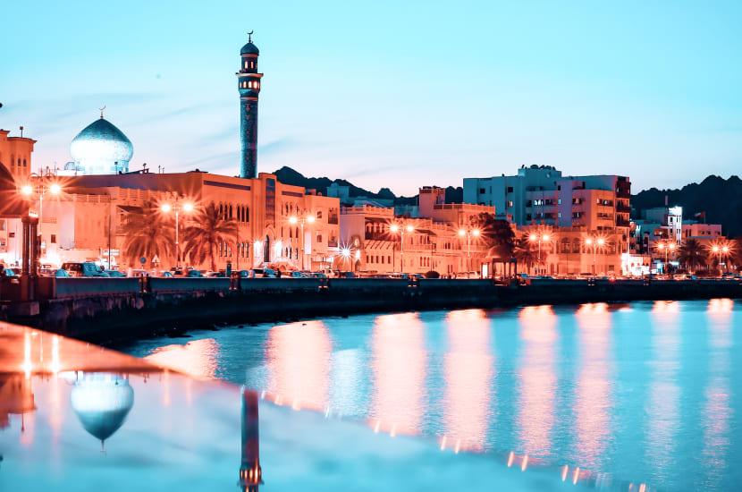 Oman, listopad, wakacje